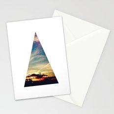 roadtrip triangle Stationery Cards