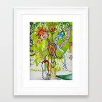 alchemy Framed Art Prints featuring Alchemy  by LuxMundi