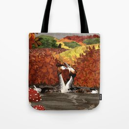 Great Crested Grebes Tote Bag