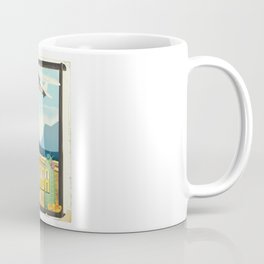 Nevada USA Desert poster. Coffee Mug