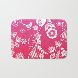 Birds, Flowers, etc. Bath Mat