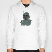 boba fett Hoodies featuring Boba Fett by Hey!Roger