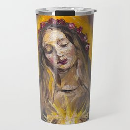 The Mystic Rose Travel Mug