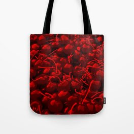 cherries pattern reacdr Tote Bag