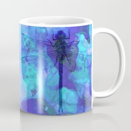 Blue Dragonfly by Sharon Cummings Coffee Mug