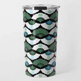 Green Vintage Travel Mug