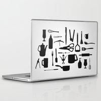 kitchen Laptop & iPad Skins featuring Kitchen by ValD