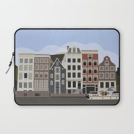 Amsterdam Postcard Laptop Sleeve