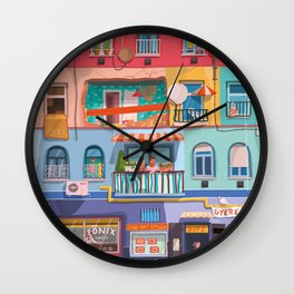 BP frontage Wall Clock