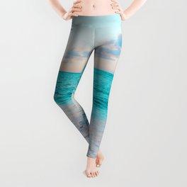 Ocean Bliss #society6 #society6artprint #buyart Leggings