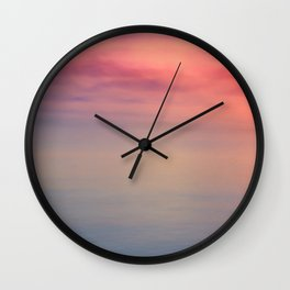 Morning Love - Colors of the Sea Wall Clock