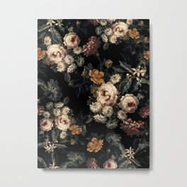 Midnight Garden XIV Metal Print