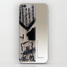 Wood Dominoes - #3 iPhone & iPod Skin
