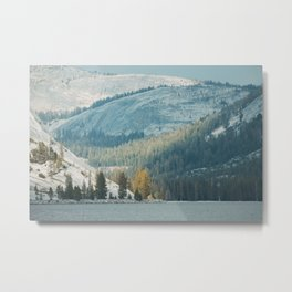 Tenya Lake in Yosemite National Park Metal Print