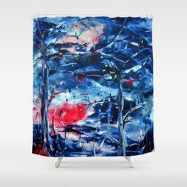 MoonNight Shower Curtain