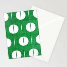 MCM Green Spurk Stationery Cards