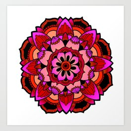 Mandala v2 Art Print