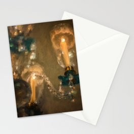 Golden Light Stationery Cards