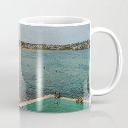 Bondi Beach Icebergs Old Coffee Mug