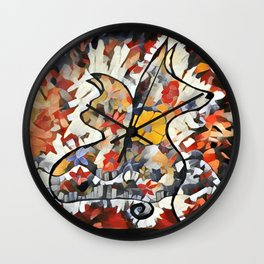C and D Lovers 2 Wall Clock