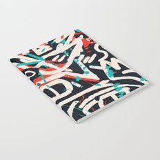Street Art Pattern Graffiti Post Notebook