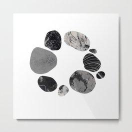 Circle Stones No.1 Metal Print