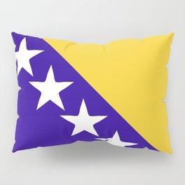 Bosnia and Herzegovina flag emblem Pillow Sham