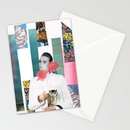 HOLLOW FACES SERIES Stationery Cards