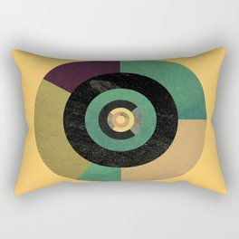 Circle Fibonacci.2 Rectangular Pillow