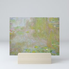 Water Lily Pond by Claude Monet Mini Art Print