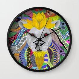 Medusa Lion(ess) Wall Clock