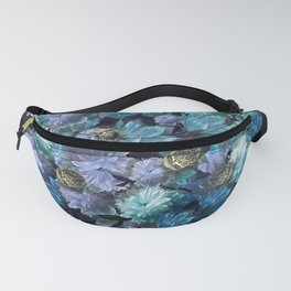 """Baroque floral with bugs"" Fanny Pack"