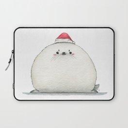 Santa Seal Laptop Sleeve