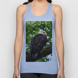 Bald Eagle Perched for Prey Unisex Tank Top