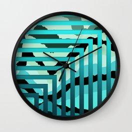 TOPOGRAPHY 2017-007 Wall Clock