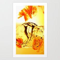 Scyphozoa Art Print