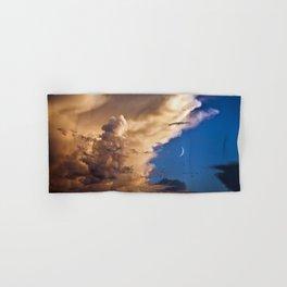 Clouds, Birds, Moon, Venus Hand & Bath Towel