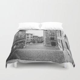 Old Town Geneva Duvet Cover