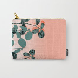 Later Days - indoor house plant ombre pink palm springs desert socal los angeles urban hipster retro Carry-All Pouch