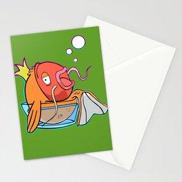 Magiklaus Klaus/ Magicarp mashup Stationery Cards
