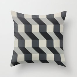Original Geometric Design by Dominic Joyce Throw Pillow