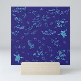 The Ocean Mini Art Print