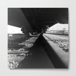 Train Yard 2, Downtown LA Metal Print