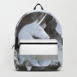 Unicorn Posing Backpack