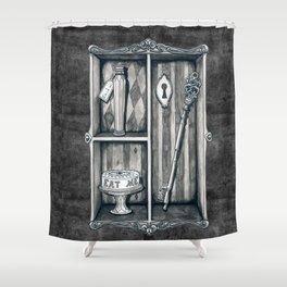 Alice's Cabinet of Curiosities Shower Curtain