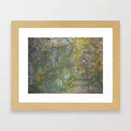 lines number 6 Framed Art Print