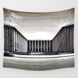THE STREET OF WARSAW Wall Tapestry