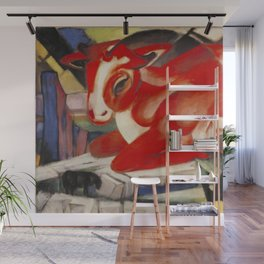 """Franz Marc """"The World Cow"""" Wall Mural"""