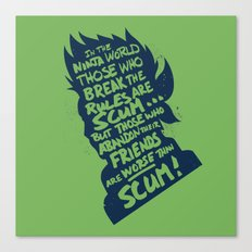 Will of Team 7 [Green] Canvas Print