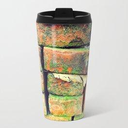Green Stack Metal Travel Mug